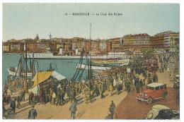 MARSEILLE (Bouches Du Rhône) Le Quai Des Belges - Très Belle Animation - Puerto Viejo (Vieux-Port), Saint Victor, Le Panier