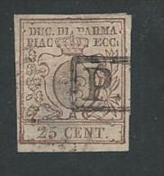 ITALIE - TIMBRE 1854 Y.T. Nº 10 OBLITÉRÉ / AMINCI - Parma