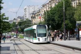 """PARIS XV-Gare Du Tramway """"Porte De Versailles"""", Boulevard Victor - Arrondissement: 02"""
