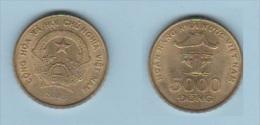 VIETNAM  //   5000 DONG  2003   //  KM # 73  //  ETAT  SUP - Viêt-Nam