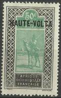 Upper Volta - 1920 Upper Senegal & Niger Overprint 50c  MH *  SG 71 - Upper Volta (1920-1932)