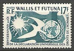 WALLIS ET F  N°  160 NEUF** LUXE - Neufs