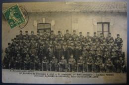 CPA Noir Et Blanc 29è Bataillon De Chasseurs à Pied - Regiments