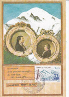 Sport  Alpinisme, Carte Maximum France Chamonix 1986