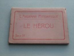 L'Ardenne Pittorresque Le Hérou Série III / Carnet 10 Cartes / Compleet ( PK / CP - Zie Foto´s Voor Details ) !! - België