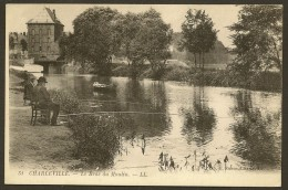 CHARLEVILLE Pêcheurs Au Bras Du Moulin (Ruben LL) Ardennes (08) - Charleville