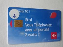 RARE : LA PUCE SUR SFR 50U - Francia