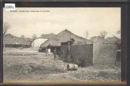 GUINEA BISSAU - BISSAU - CONSTRUCCAO D'UMA CAZA DE GRUMETE - TB - Guinea-Bissau