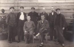 CP Photo 14-18 Camp De GUSTROW - Un Groupe De Prisonniers (A93, Ww1, Wk 1) - Weltkrieg 1914-18