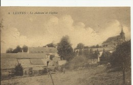 LESVES... Le Château Et L ´ église. - Profondeville