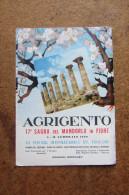 LIBRICINO SAGRA DEL MANDORLO IN FIORE 1960_AGRIGENTO_SICILIA SICILY_ FESTIVAL INTERNAZIONALE DEL FOLKLORE_MANIFESTAZIONI - Dépliants Touristiques