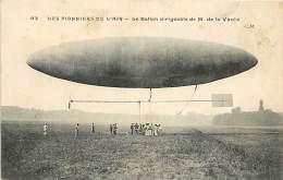 Réf : A-15-0544  : DIRIGEABLE  M DE LA VAULX - Dirigibili