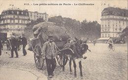 75 / LES PETITS METIERS DE PARIS / LE CHIFFONNIER / JH 913 / CIRCULEE 1908 / TBE - Ambachten In Parijs