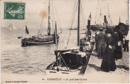 CPA - PAIMBOEUF - Le Quai Sadi-Carnot - Circulé 1916 BE (Lot 2-75) - Paimboeuf