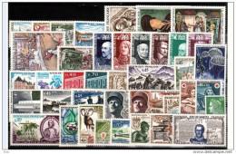 FRANCE - 1969 - Année Complète - Timbres N° 1582 à 1620 - Neufs ** - France