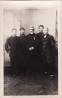 CP Photo Novembre 1918 Camp De GUSTROW - Un Groupe De Prisonniers (photo Louis Postif) (A93, Ww1, Wk 1) - Weltkrieg 1914-18