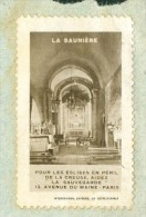 Sur LAC DE Gueret De 1935 Rare Vignette Pour La Sauvegarde De L'église De Saunière   - Mala3401 - Turismo (Vignette)