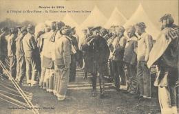 Guerre De 1914 - Sa Majesté Georges V Visite Les Blessés Indiens à L´Hôpital De New-Forest (Angleterre) - Guerre 1914-18