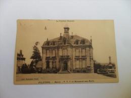 La Corrèze Lilustrée égletons--mairie-p.t.t-et Monument Aux Morts.     Y - Egletons