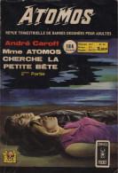 ATOMOS N° 24 BE AREDIT 04-1974 COMICS POCKET - Arédit & Artima