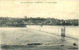 52/ CPA - St Ciergues - Le Village, La Digue - Frankreich