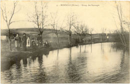69/ CPA A - Monsols - Etang Des Sauvages - France