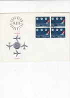 SVIZZERA  1968 - Yvert 805  - Annullo Speciale - Aereoport Geneve - Aerei