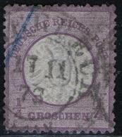 Ellerbeck 17/11 73 Auf 1/4 Groschen Lila - DR Nr. 16 - Deutschland