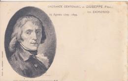 Bosisio Onoranze Centenarie A  Giuseppe Parini. 1799-1899 - Scrittori
