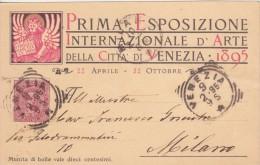 I ESPOSIZIONE INTERNAZIONALE D'ARTE DELLA CITTA' DI VENEZIA, 1895. - Exhibitions