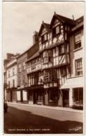 ANCIENT BUILDINGS IN HIGH STREET - LUDLOW - SHROPSHIRE - 1938 - Vedi Retro - Formato Piccolo - Shropshire
