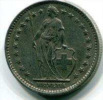 SUISSE  - 2 Francs 1968 B -  Etat SUP  - ET025 - Schweiz