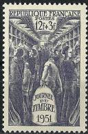 "YT 879 "" Journée Du Timbre  : Wagon Poste "" 1951 Neuf*"