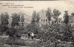 MALAGA --HospiTAL CIVIL  --Vista Partial Desde Los Jardines - Málaga