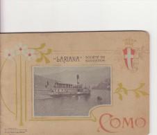 Libretto In Lingua Francese Sulla Città Di Como. 48 Pagine Piu Una Cartina - Transportation