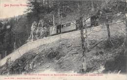 La Schlucht      88       Le  Tramway électrique   Aux Grands Murs - Altri Comuni