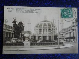 GAND - 1913, Cour D'honneur Et Entrée Principale - Gent