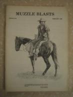 Revue MUZZLE BLASTS  - N°6  - Février 1982. - Magazines & Papers