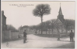 D18 - ST GERMAIN DES BOIS - PLACE DE L'EGLISE - EN BERRY - état Voir Descriptif - Autres Communes