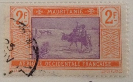 Mauritania Used (0) 1913-1918 Sc 52 - Mauritania (1906-1944)
