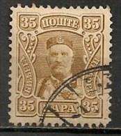 Timbres - Montenegro - 1907 - 35 P.