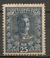 Timbres - Montenegro - 1910 - 25 P.