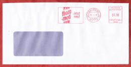 Brief, Francotyp-Postalia B66-0941, Thera-med Jetzt Neu, 170 Pfg, Duesseldorf 1991 (69999) - Covers & Documents
