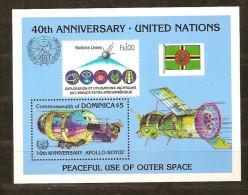 Dominica 1985 Yvertnr. Bloc  104 *** MNH Cote 50 FF - Dominique (1978-...)