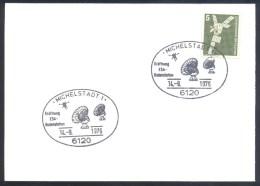 Germany Deutschland 1976 Card: Space Fligsts Raumfahrt ESA; Eröffnung ESA Bodenstation Cancellation - FDC & Gedenkmarken