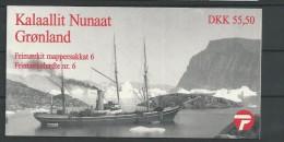 1998 MNH Greenland, Booklet Postfris - Carnet