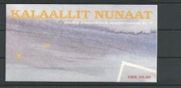 1998 MNH Greenland, Booklet Postfris. - Carnet