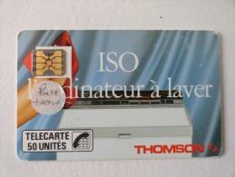 RARE : DEPORT DE PUCE  ET COURONNE AU DOS ETC. SUR ISO THOMSON SC4on 50U - France