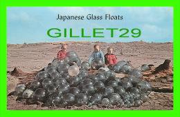 WILLAPA BAY, WA - JAPANESE GLASS FLOATS BALLS - ANIMATED WITH KIDS -  PHOTO'NEIL - - United States