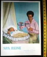 PUB PUBLICITE FEUILLET SPA LA REINE BOISSON - Old Paper